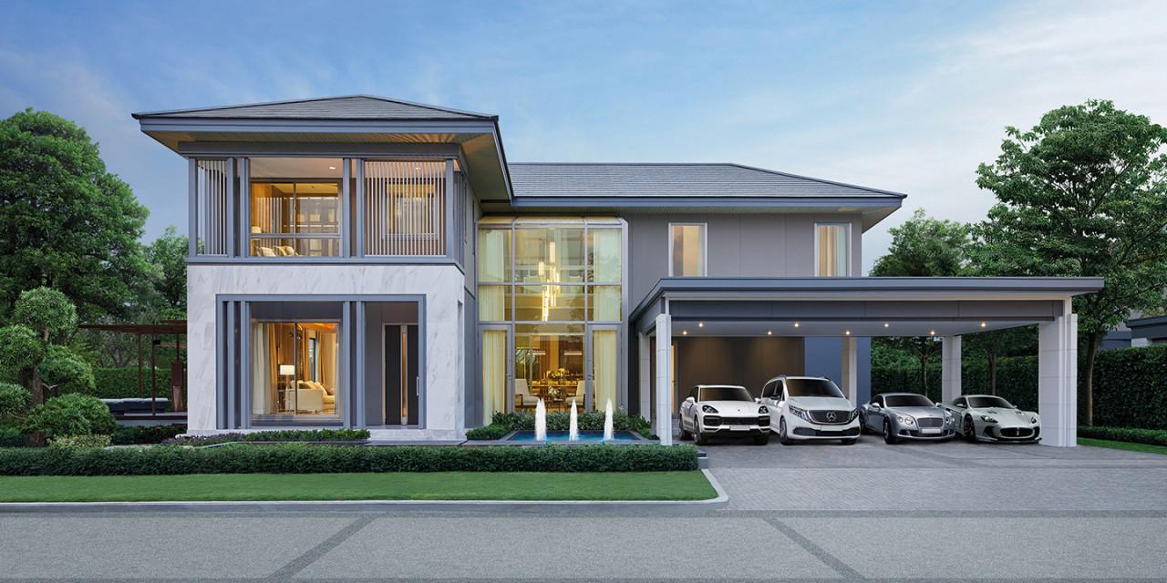 บ้านเดี่ยว Perfect Masterpiece รามคำแหง บ้านใหม่ บ้านพร้อมอยู่ รีวิว พรีวิว การเดินทาง
