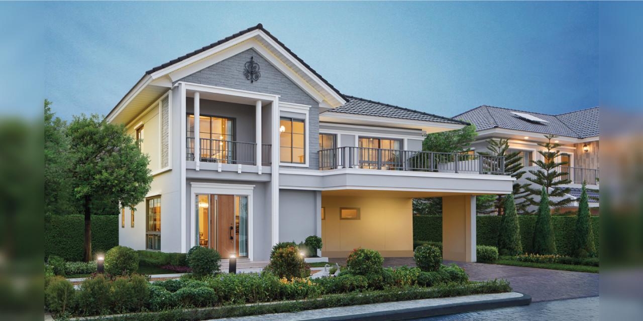 บ้านเดี่ยว Perfect Residence พระราม 9-กรุงเทพกรีฑา บ้านใหม่ บ้านพร้อมอยู่ รีวิว พรีวิว การเดินทาง