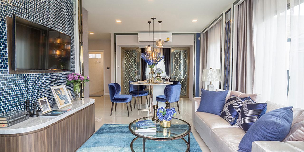 บ้านเดี่ยว บ้านแฝด ทาวน์โฮม ทาวน์เฮ้าส์ Perfect Place สุขุมวิท 77-สุวรรณภูมิ รีวิว พรีวิว ที่ตั้ง ทำเล การเดินทาง
