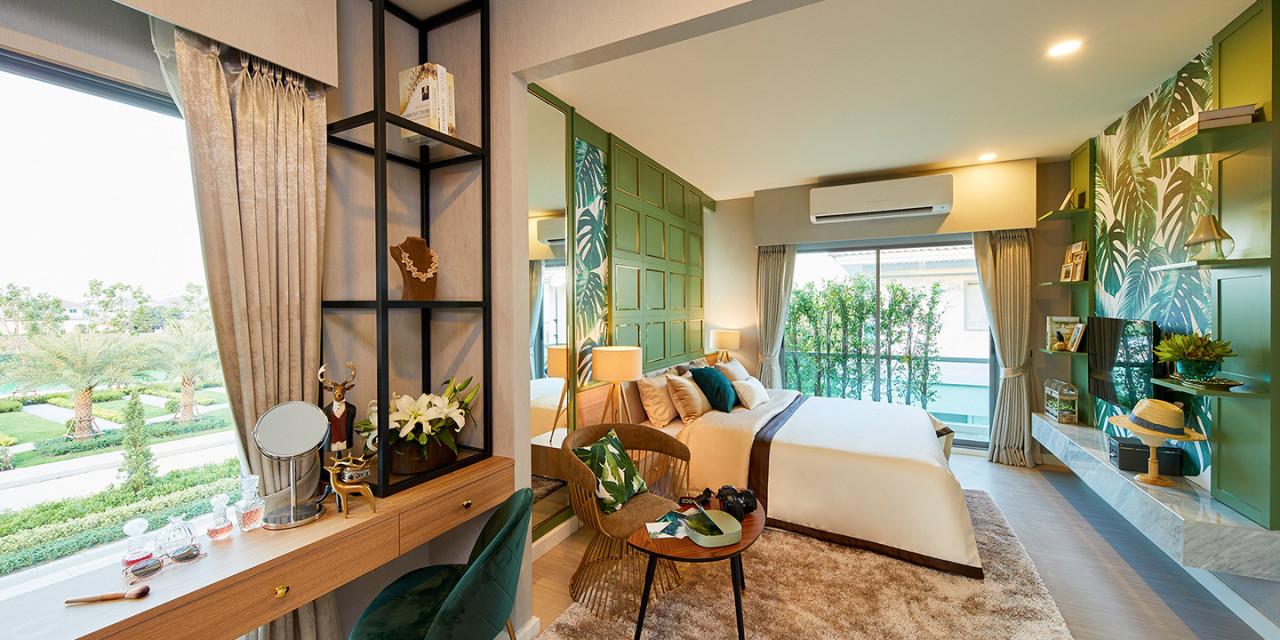 บ้านเดี่ยว บ้านแฝด บ้านพร้อมอยู่ บ้านใหม่ ทาวน์โฮม ทาวน์เฮ้าส์ Perfect Place พระราม 9-กรุงเทพกรีฑา รีวิว พรีวิว การเดินทาง