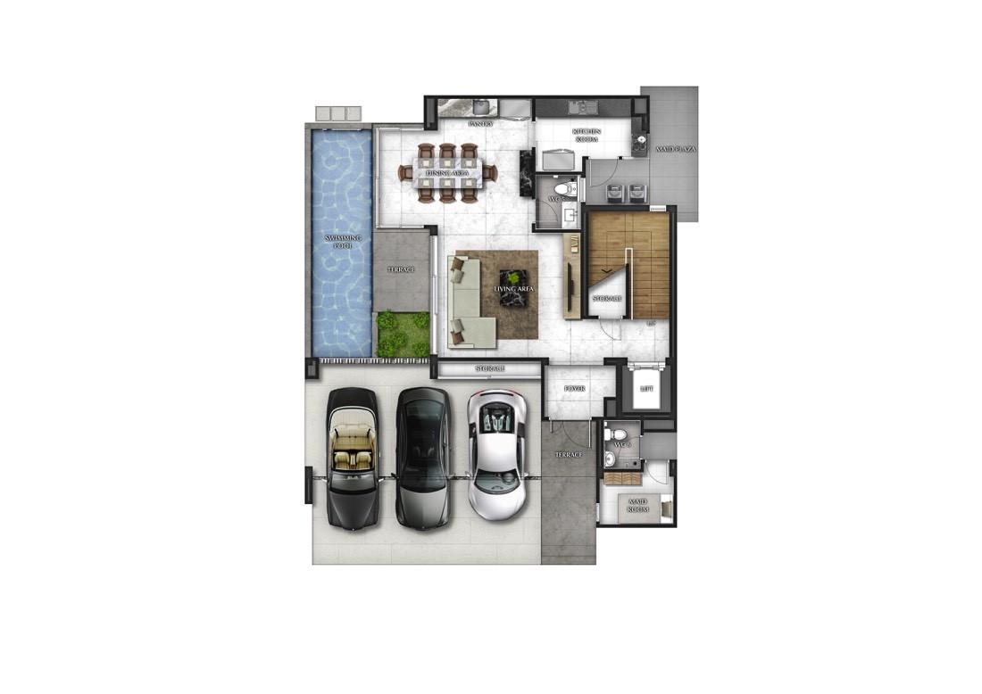 บ้านเดี่ยว บ้านแฝด ทาวน์โฮม ทาวน์เฮ้าส์ The Gentry  เอกมัย-ลาดพร้าว รีวิว พรีวิว ที่ตั้ง ทำเล การเดินทาง