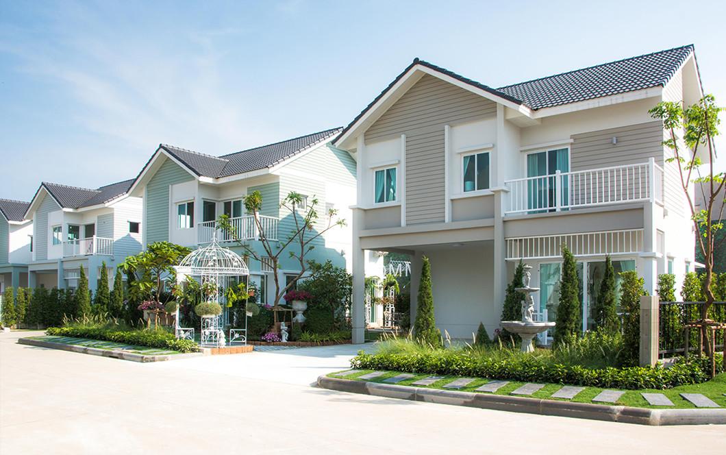 บ้านเดี่ยว บ้านแฝด ทาวน์โฮม ทาวน์เฮ้าส์ Iconature  พระราม 2-เทียนทะเล รีวิว พรีวิว ที่ตั้ง ทำเล การเดินทาง บ้านพร้อมอยู่ บ้านใหม่ บ้านราคาถูก
