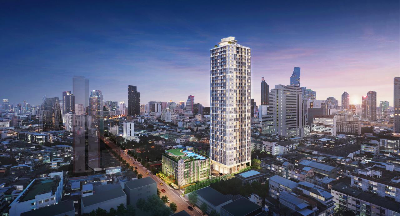 รูปหน้าปก  ผสานย่านเก่ากับไลฟ์สไตล์ New Generation ด้วยแนวคิด 'Old Town New Time' ที่ Supalai Premier Si Phraya-Samyan